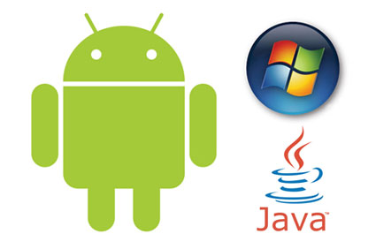 aplicaciones android java windows